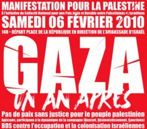 Photo de Gaza un an après : Manifestation pour la Palestine