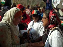 Photo de De retour de la Marche de la Liberté pour Gaza.