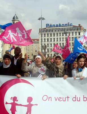 Photo of Au cœur de la manif pour tous