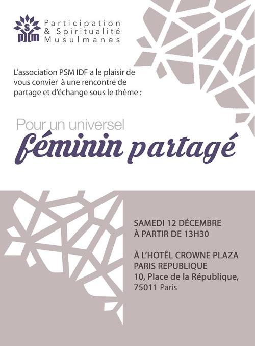 Photo of Pour un universel féminin partagé