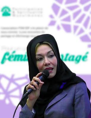 Photo de Malika Hamidi : Pour un universel féminin partagé