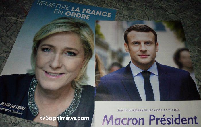Photo de Présidentielle 2017 : le match Macron-Le Pen annoncé pour le second tour