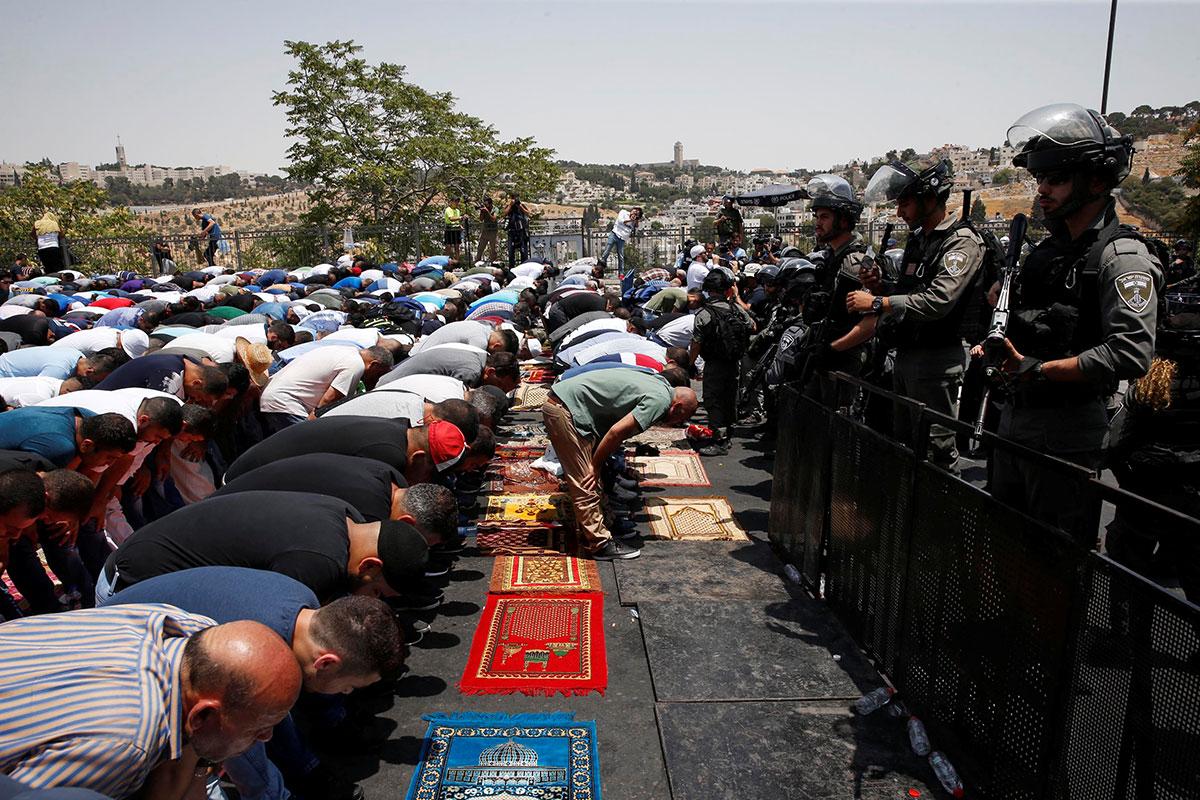 Photo de Jérusalem : crise des portiques ou éruption du chaudron colonial ?