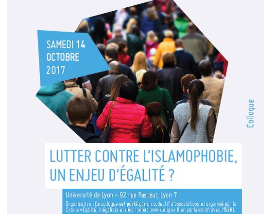 Photo of Colloque « Lutter contre l'islamophobie, un enjeu d'égalité ? » Université Lyon 2, le 14 octobre 2017