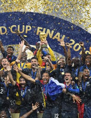 Photo of Les valeurs du foot : la joie des Français !