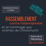 Non à l'islamophobie