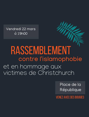 Photo of Appel au Rassemblement : NON A L'ISLAMOPHOBIE !