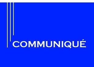 Photo de Communiqué